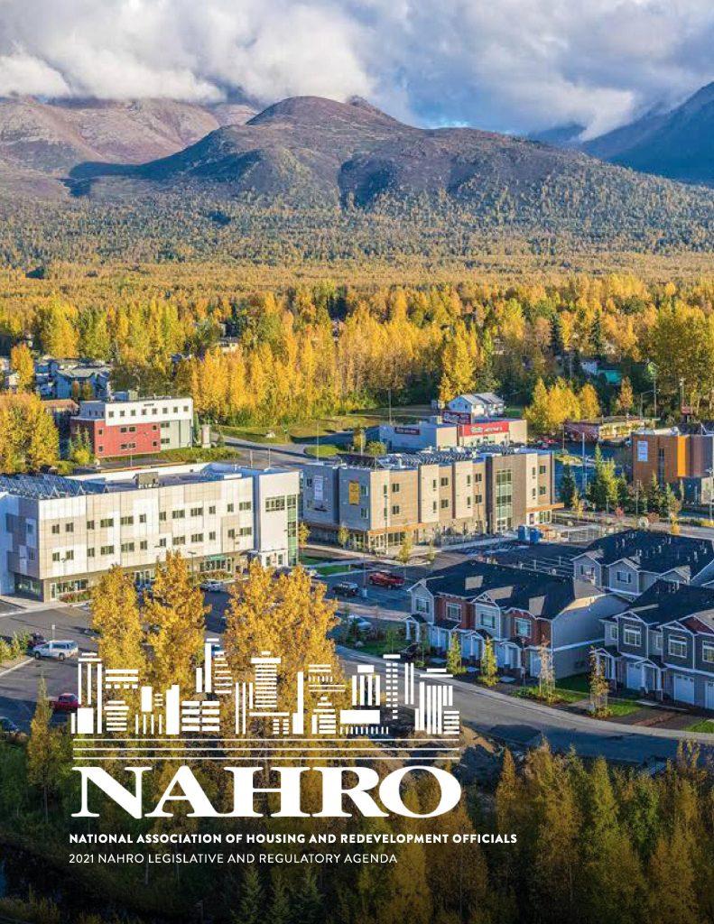 National Association of Housing and Redevelopment Officials  2021 NAHRO Legislative and Regulatory Agenda Cover